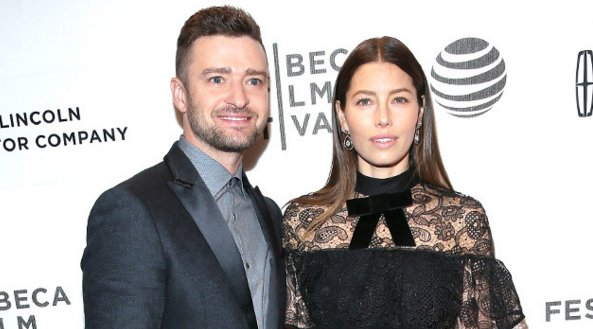 Jessica Biel jokes her son ''looks like a drunken mini human.