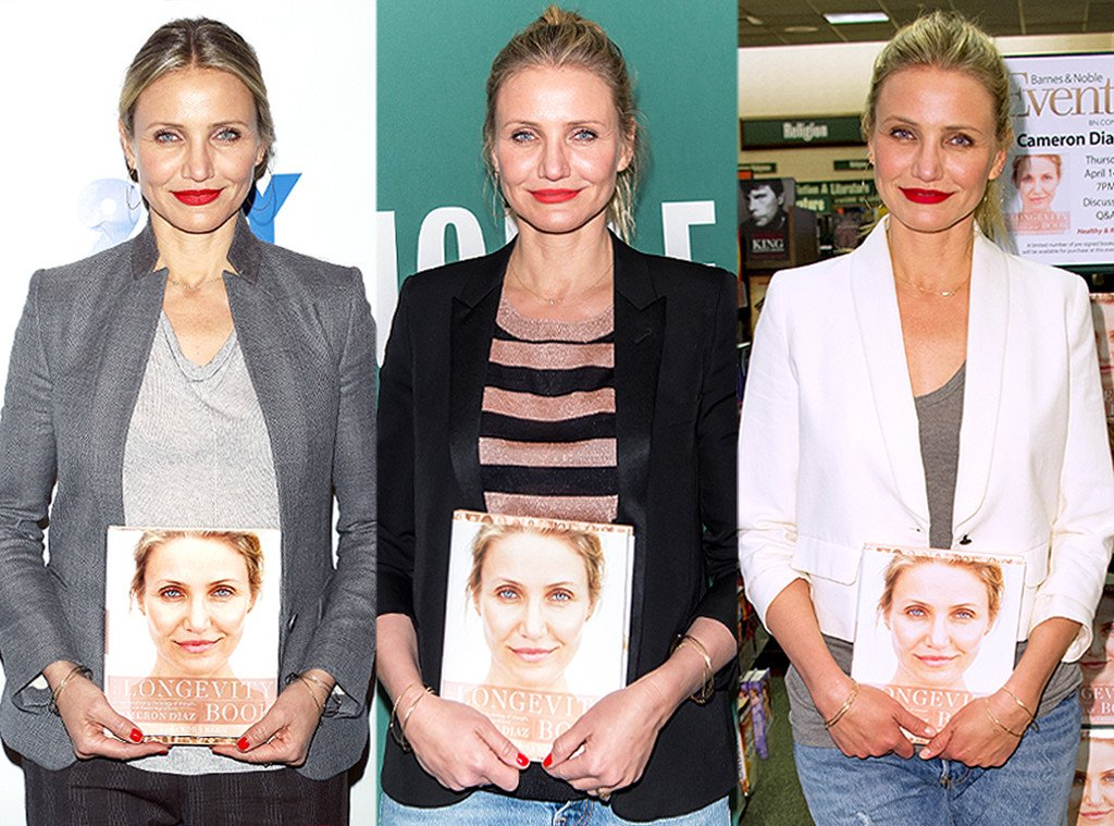 So there's this book Cameron Diaz just can't put down...