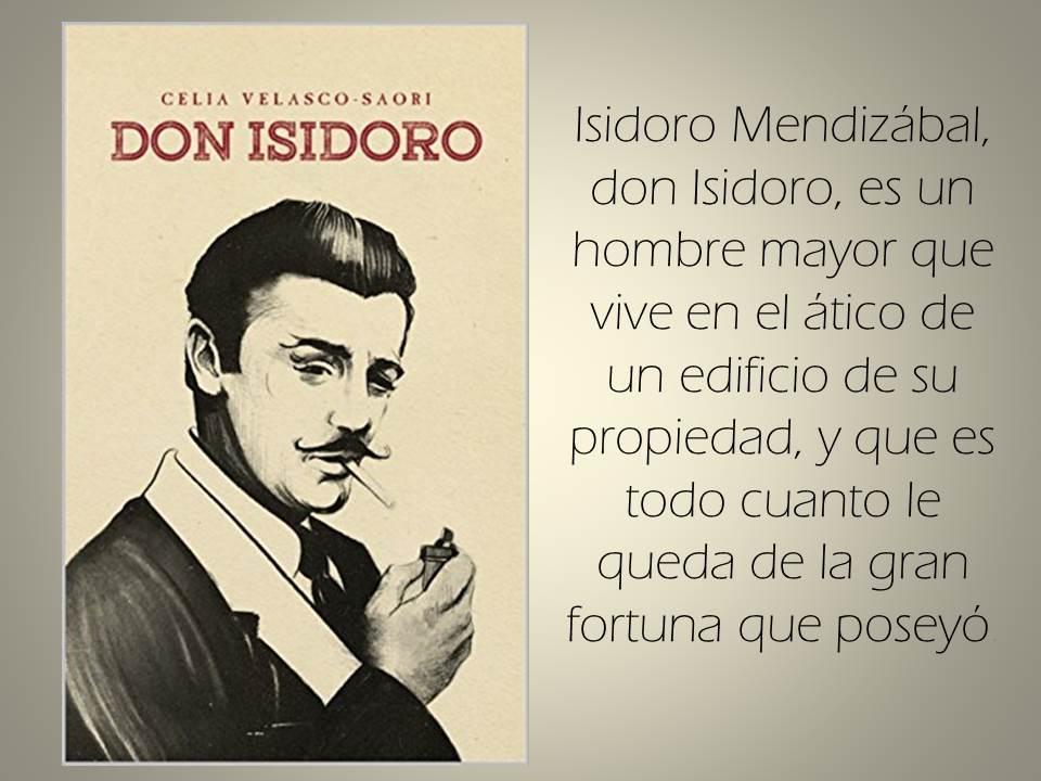 RT @MultiBookMarket: Don Isidoro: Vivir el presente recordando el pasado by @CeliaVelasco1 https://t.co/gSWO5urPeh  https://t.co/7AYnoUAKLr