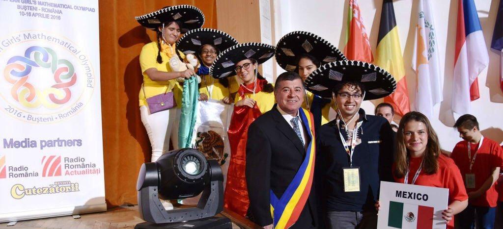 Felicidades a las mexicanas ganadoras en la Olimpiada Europea Femenil de Matemáticas. Son un orgullo para @Mexico. https://t.co/tlr3xuJaPo