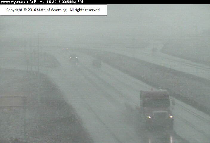 4 pm: wydot highway cameras showing reduced visibility in laramie ...