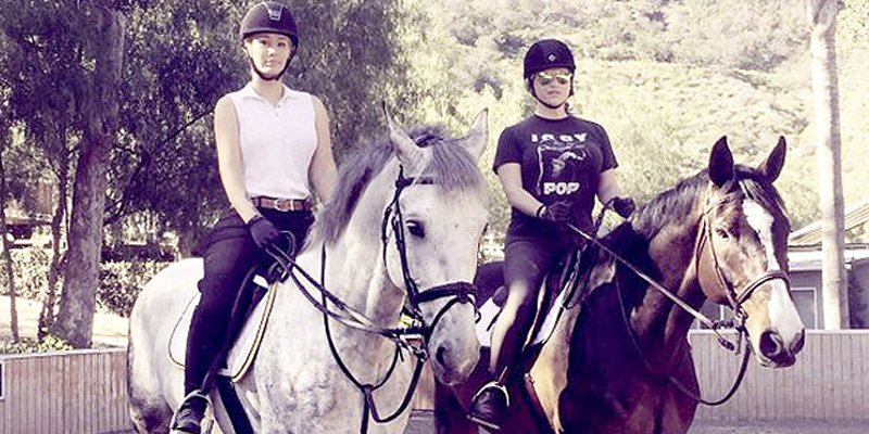 The heartwarming reason Iggy Azalea brought Kesha horseback riding