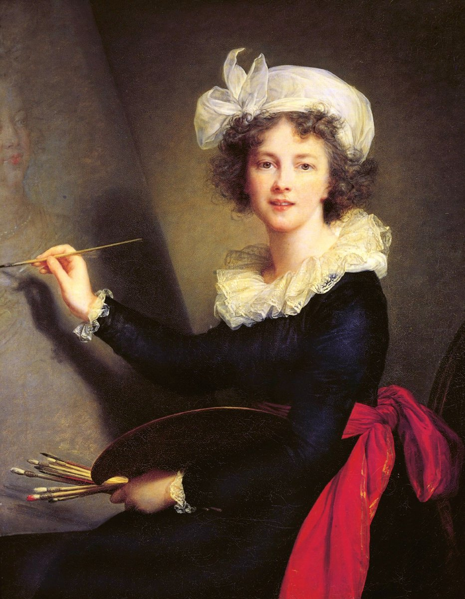 #vigéelebrun, one the most important of all women artists ...
