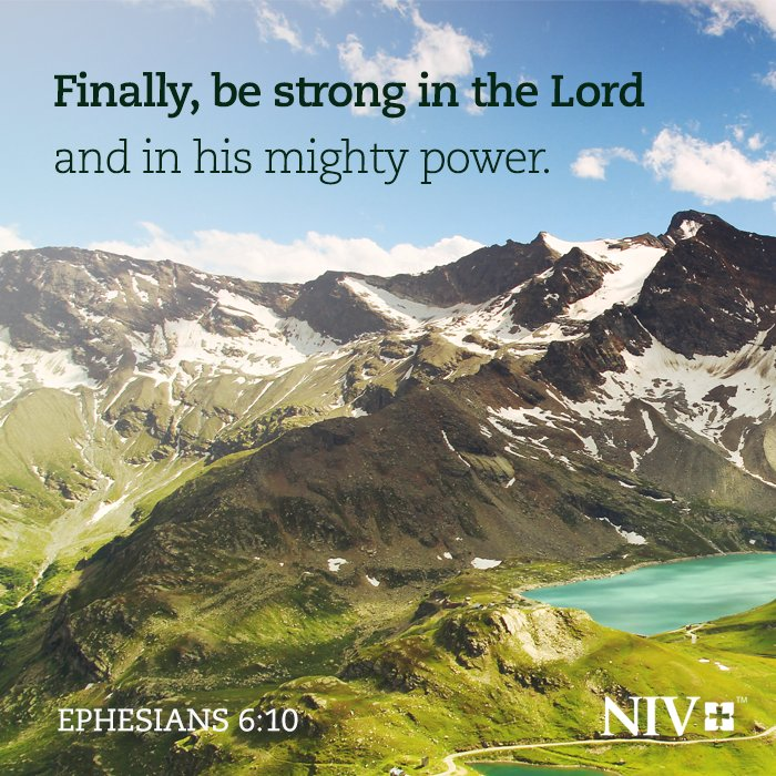 Be strong in the Lord! Please share this #Scripture today. #BibleVerse #encouragement https://t.co/yY0ruQkKf8