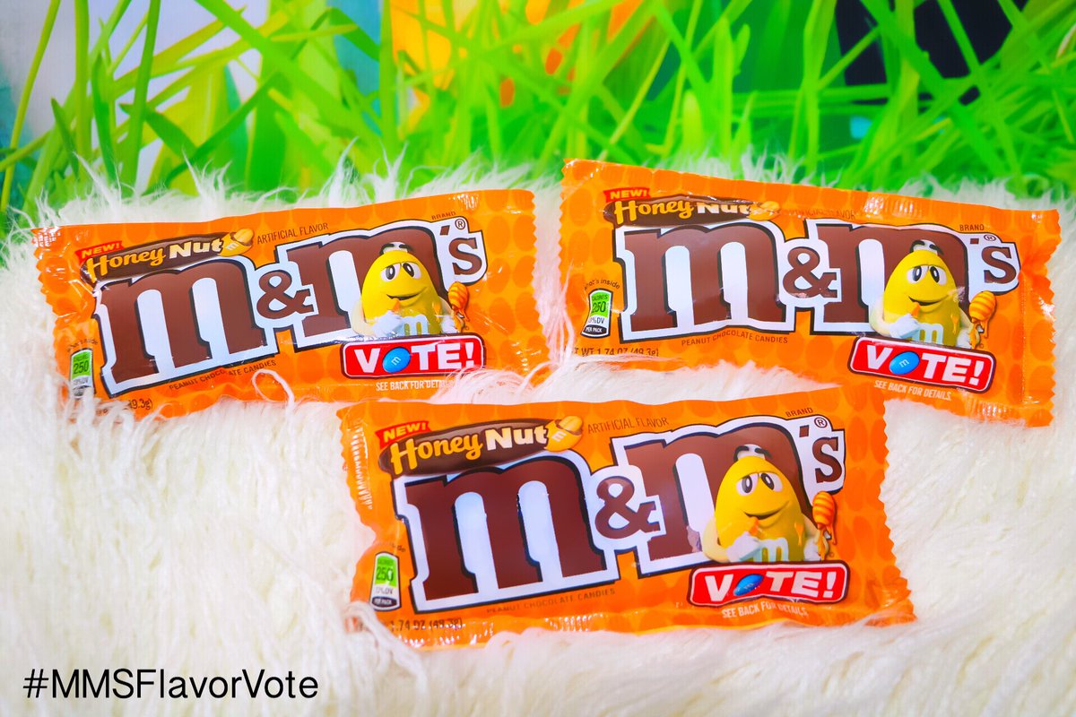Obsessed w/ @mmschocolate Honey Nut. Try them all & vote for your fav https://t.co/ZVFZVCjgpz #MMSFlavorVote #IC #ad https://t.co/BkqI7MtiGP