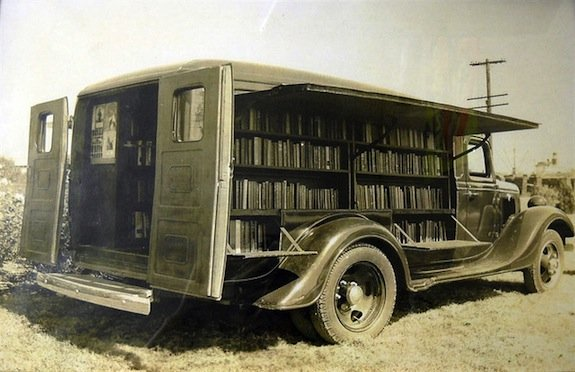 The Earliest Libraries-on-Wheels Looked Way Cooler Than Today's Bookmobiles https://t.co/DcRhoSUX51 https://t.co/Erl6W9JJwI