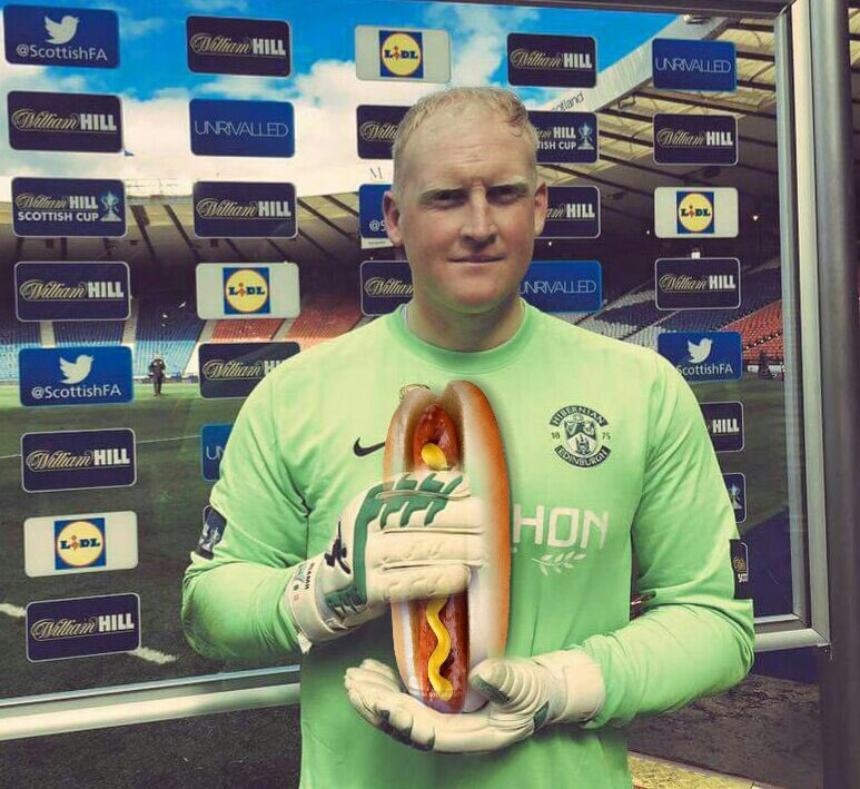 Big Conrad absolutely delighted with his Man of the Match award!!