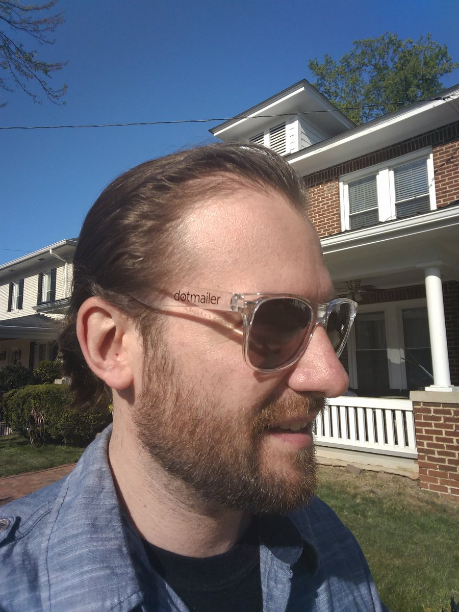 crduffy: Finally getting a chance to use my @dotmailer sunglasses from #MagentoImagine https://t.co/qnKnv267I1