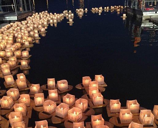 4月16日、真如苑台湾を中心に行う灯籠流し「国際祈福水燈節」が台湾・新北市にて行われました。開式に際し参加者全員で1分間の黙祷をし、熊本地震や昨年の台湾の地震、世界の自然災害犠牲者、大変な思いをされている方々に祈りを運びました。 https://t.co/8O7LTHbJlG