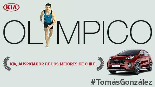 Felicitaciones @tomasgonzalez1 por la clasificación a los JJ.OO. #Rio2016 #GrandeTomás ¡CONFIRMADO! https://t.co/fQe02rq37I