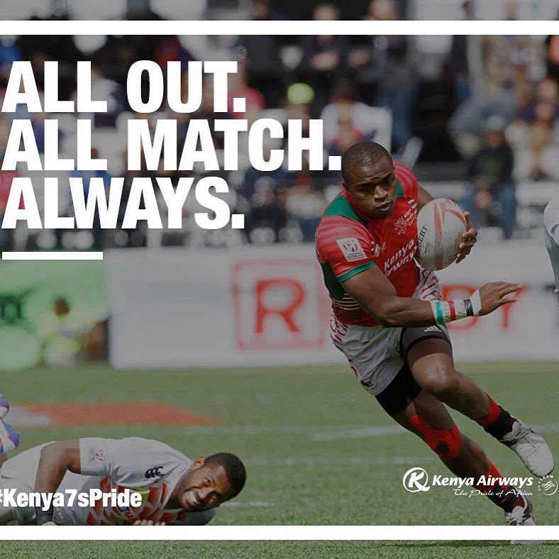 Congratulations to #Kenya7s, we are through to the finals ! https://t.co/BzybL4jY59