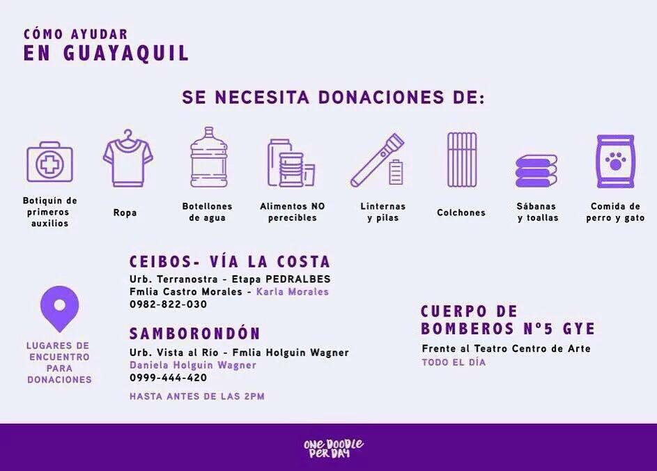 ¿Cómo ayudar en Guayaquil? https://t.co/uEJ2ERMJ3z