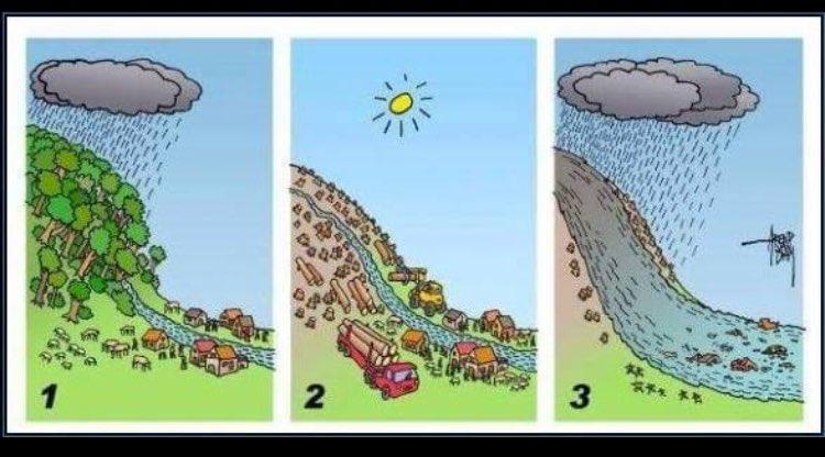 """Crecidas de ríos """"solo"""" por lluvias? Piense otra vez https://t.co/YpnMpa5CbD"""