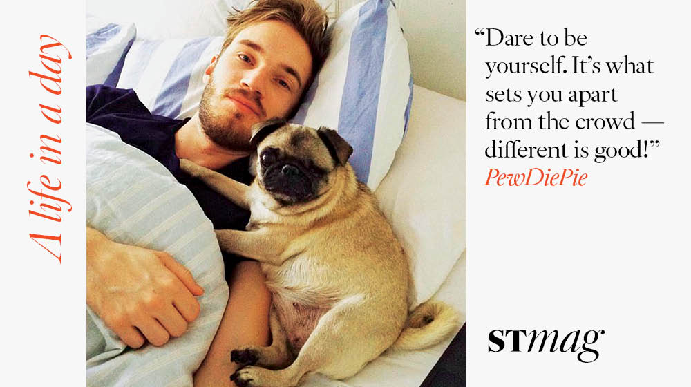A Life in the Day of #Youtube star @pewdiepie #richlist https://t.co/zkEUyVhbvq https://t.co/5RiaHU9K5j