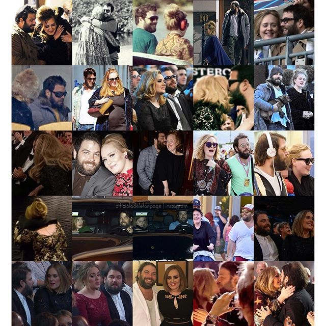 Happy 42nd birthday to the guy who has always make adele happy, to the guy who had given adele a little angel named