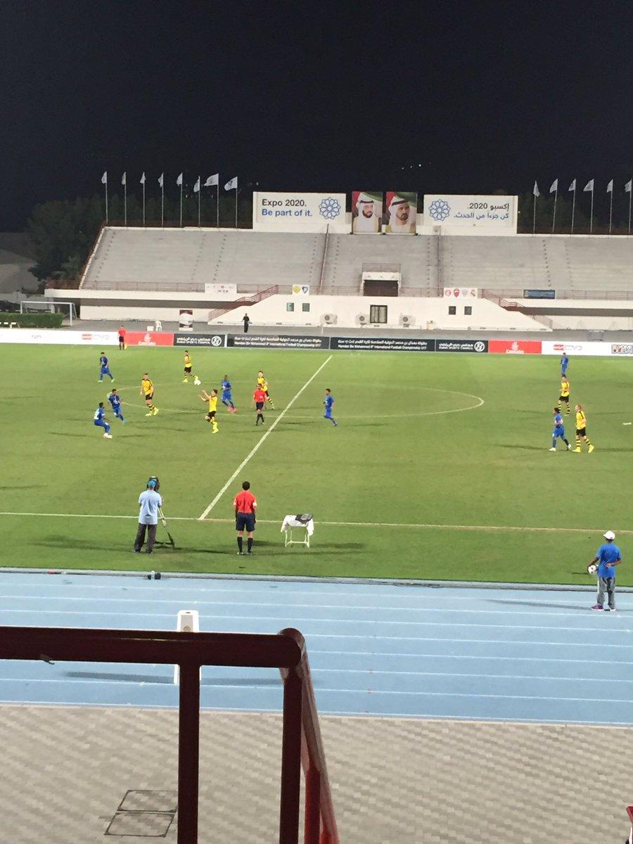 At international u17 tournament in Dubai. Impressed by @Alhilal_EN performance vs Dortmund ! @12manSports https://t.co/QplvGg3QRk