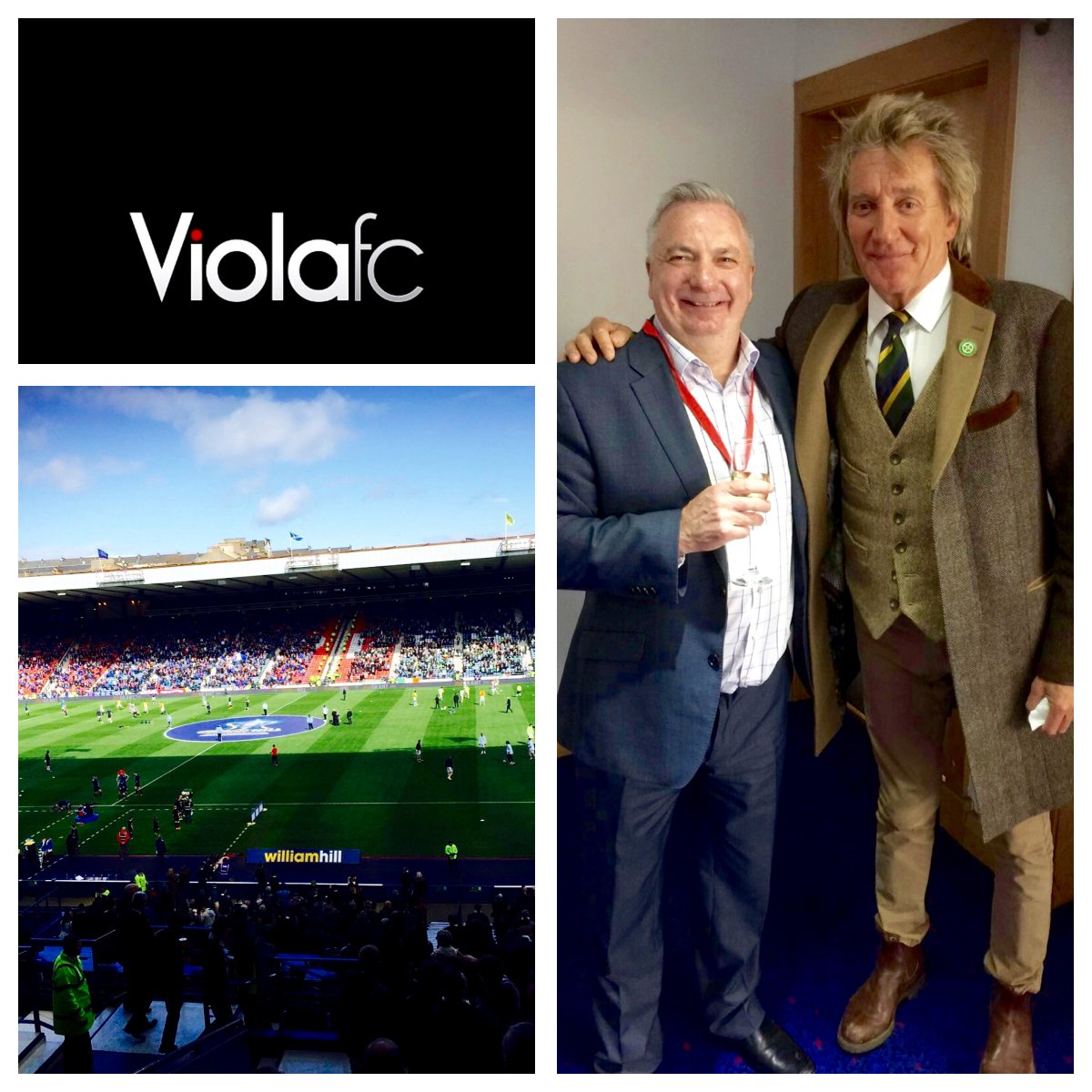 Fantastic day at Hampden watching the Old Firm Derby, amazing fixture, @rodstewart popped bye to say hello #ViolaFC https://t.co/9hkFO3dYBo