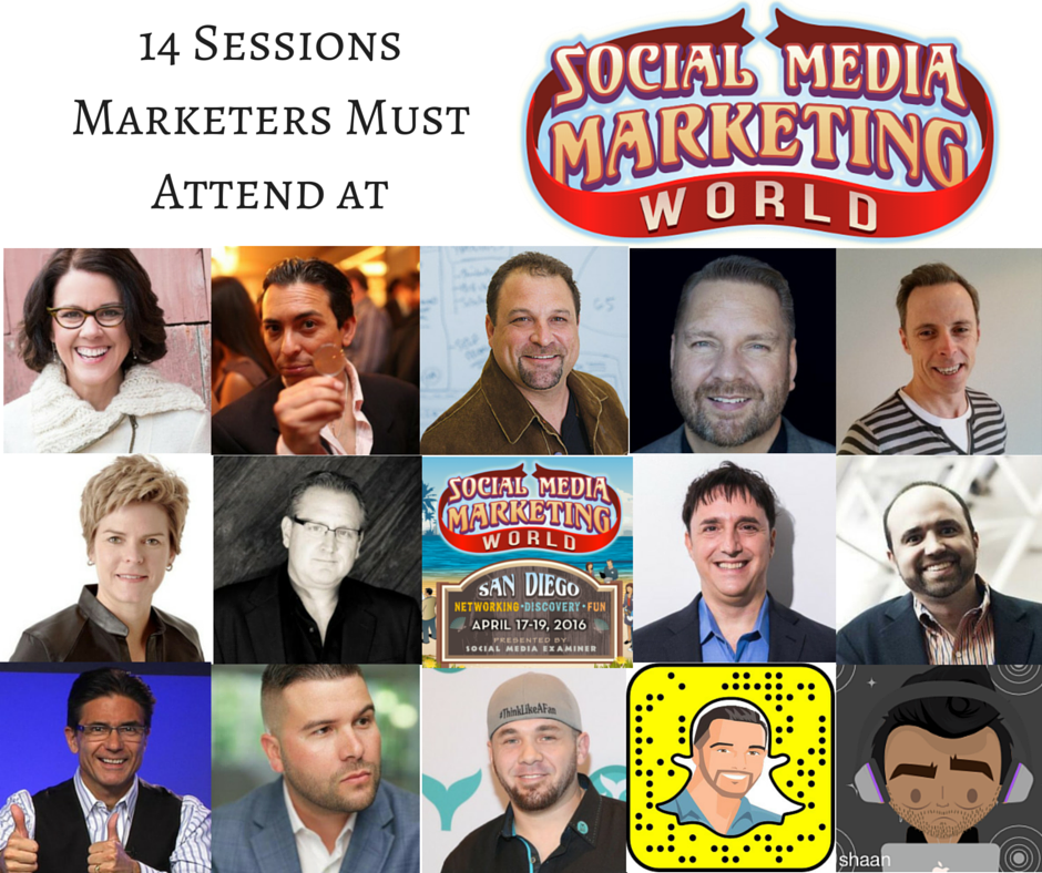 14 Sessions Marketers Must Attend at Social Media Marketing World https://t.co/7pcmqlL5P1 #SMMW16 @SMExaminer https://t.co/ZBSkmrlqb9