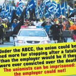 Turnbulls ABCC: Think about this next time workers are killed on a construction site - is it fair? #ausvotes #CFMEU https://t.co/yk64VpbxkZ
