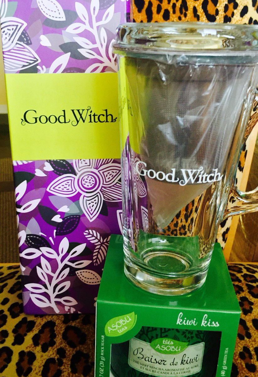 Enjoy the magic of #GoodWitch! Follow us & RT for a chance to win Cassie's Elixir Set! https://t.co/BYGKwAbAah