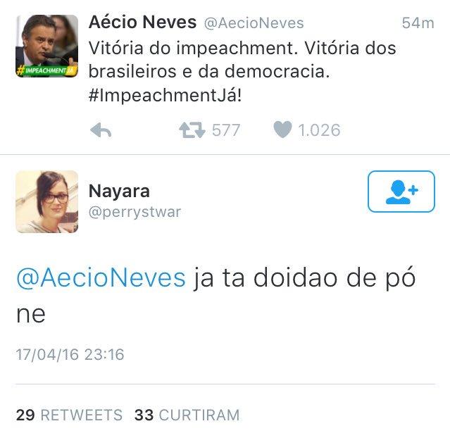 O melhor do Brasil ataca novamente #ImpeachmentDay https://t.co/hKaXmO09xc