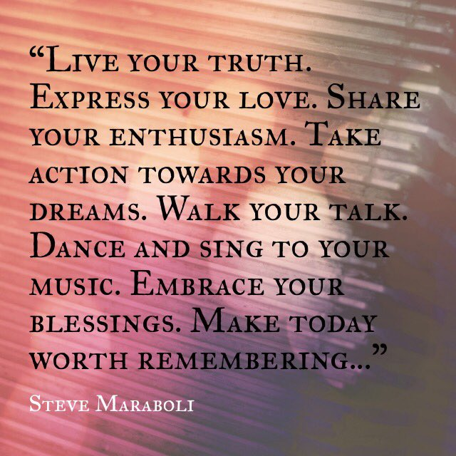 #MotivationalMondays #WalkTheTalk #Live #TakeAction #MakeTodayWorthRemembering https://t.co/7uQvHHbgQo