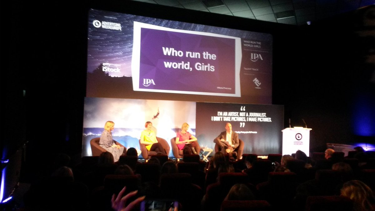 A Beyoncé inspired chat now on the @GettyImages stage at @AW_Europe #AWEurope https://t.co/BNBDjkRtOt
