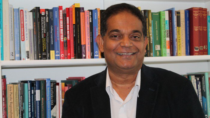 Interview with @AmitavAcharya on nonwestern #IR, #theory, #regionalism and a multiplex world https://t.co/hKWrlhhS9o https://t.co/YERhPwhUJs