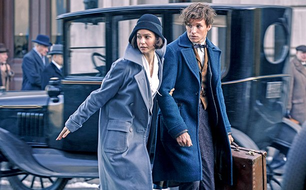 J.K. Rowling saw a private screening of FantasticBeasts and we're really jealous: