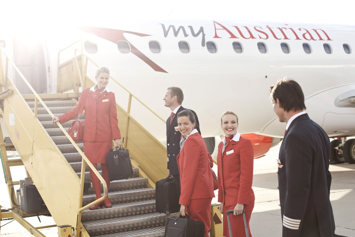 Fourth Austrian Embraer OE-LWM Takes Off for Scheduled Flight Service