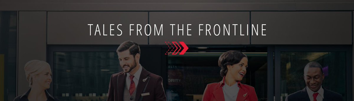 TalesFromtheFrontlines: The employees who move @Delta & its customers, 1 flight at a time.