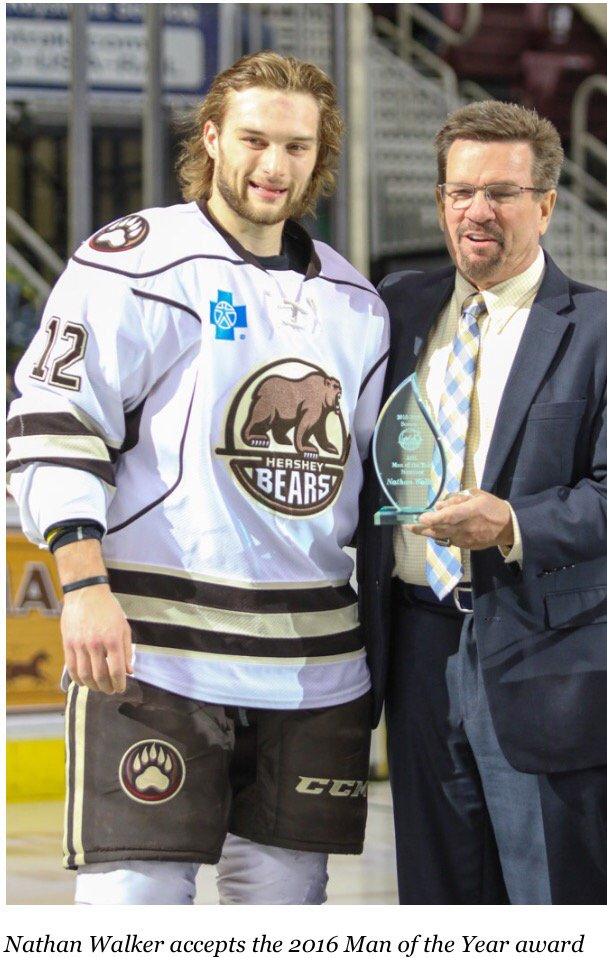 AHL: Hershey Bears Wing And NHL Prospect Nathan Walker To Become First Aussie To Play In Calder Cup