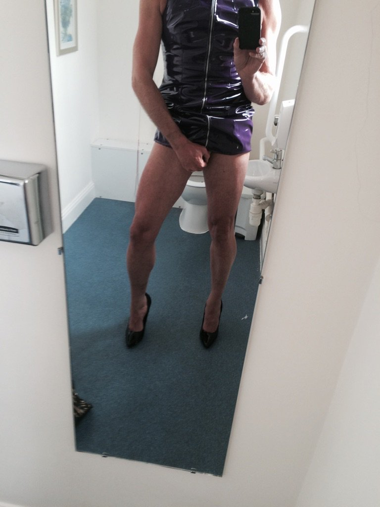 #crossdressing #slut #hells #property can't wait till tomorrow already dressed with my #cuck & #slavegirl