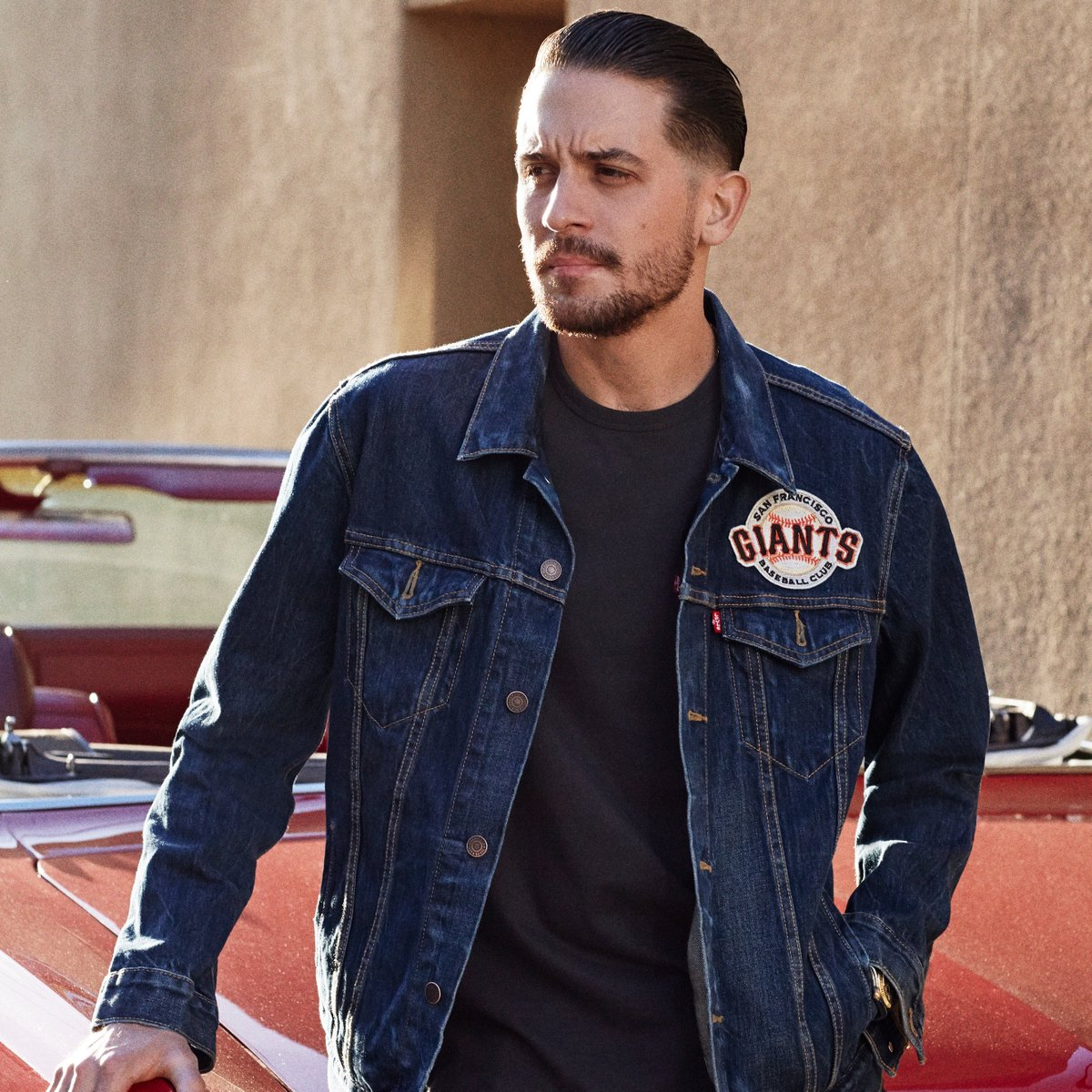 Bay Area proud. @g_eazy wears our Giants Trucker. Shop @SFGDugoutStore, our SF stores & here https://t.co/vbRHjfgrQb https://t.co/KwQQMkfcpX