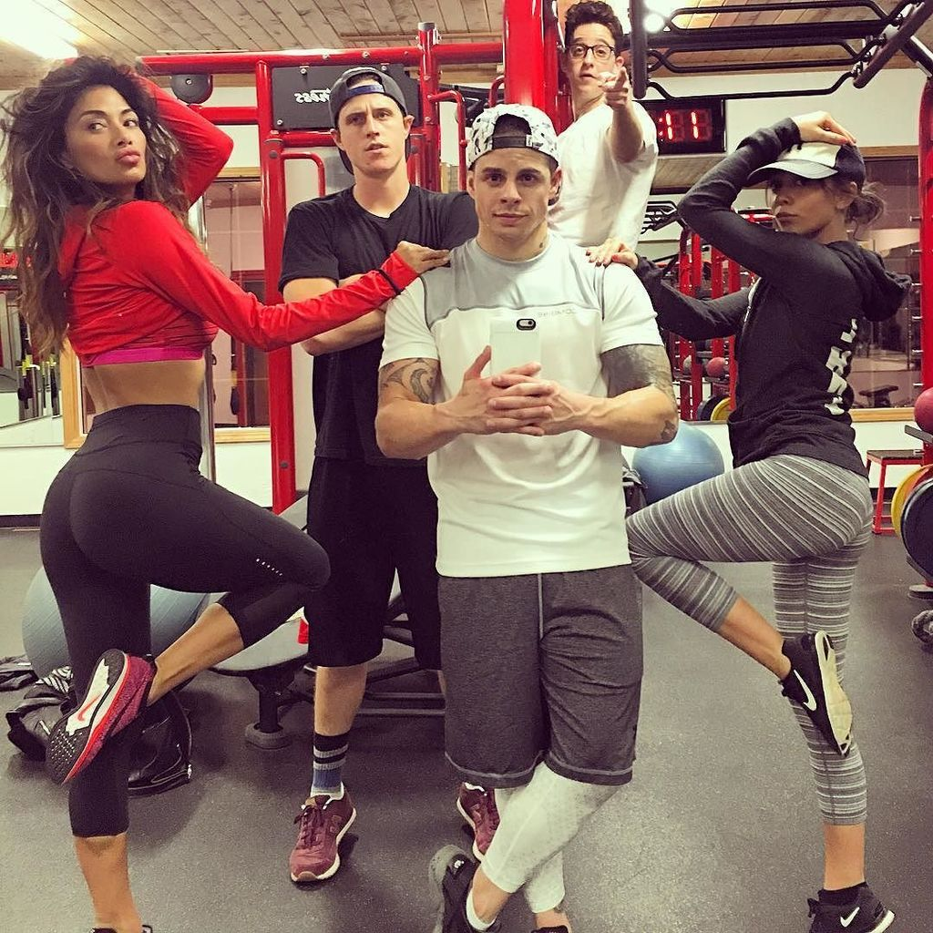 #dirtydancing #squad hitting the #gym feeling the #dirtyburn...wait that sounds weird ???????????????? https://t.co/pWYrpZVJhF https://t.co/krDjj44WXo