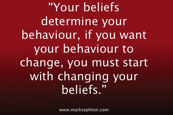 #TuesdayMotivation Your beliefs determine your behaviour. #leadership https://t.co/3TuBZWr5xI