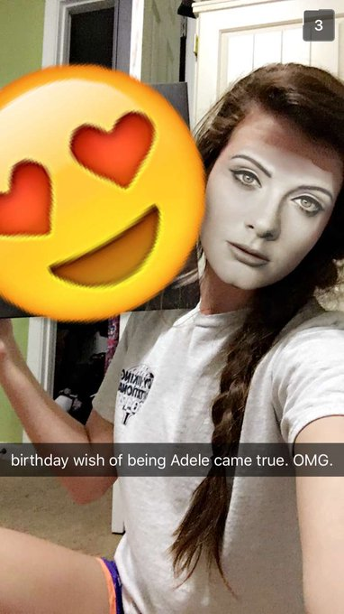 One last happy birthday to adele herself