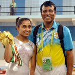 Heartfelt wishes to Dipa Karmakar,the first Indian female gymnast to qualify for the Olympics. #inspiring #proud https://t.co/6C4hSVCX8q