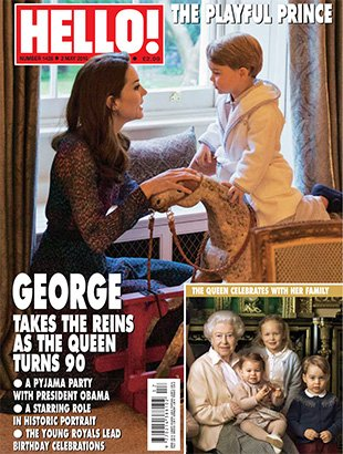 Don\'t miss our new issue out now, with prince george in his adorable ...