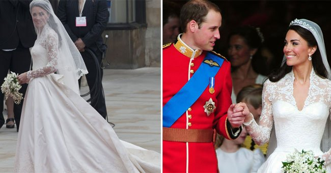 Someone's made some shocking claims about Kate Middleton's wedding day....