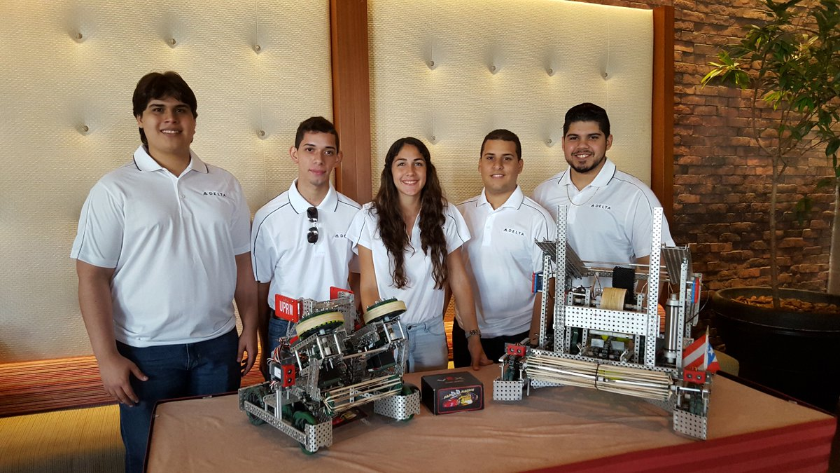 .@Delta-sponsored robotics team claims 4th place at world championship
