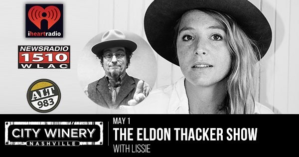 Retweet for the chance to win 2 tix to the @EldonThacker show this Sunday eve at @CityWineryNSH in Nashville! https://t.co/e7o7aNHDED