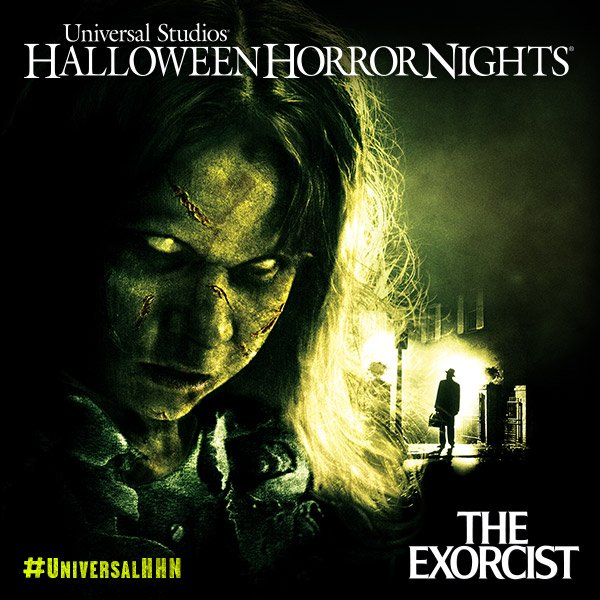 Be paralyzed with fear as you witness the power of the supernatural. The Exorcist is coming to #UniversalHHN! https://t.co/2xNtfjARD7