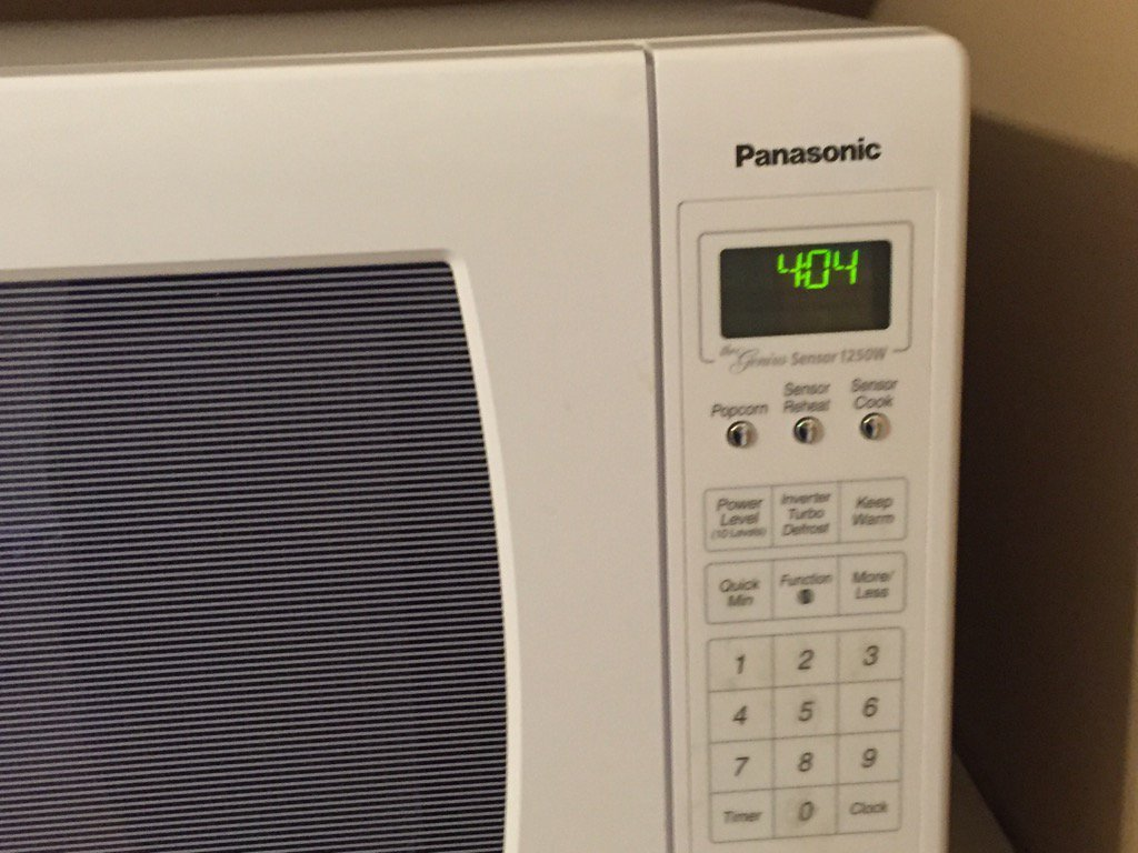 Oh no, this came up on my microwave and the food is missing! https://t.co/3l3gP7DlBK