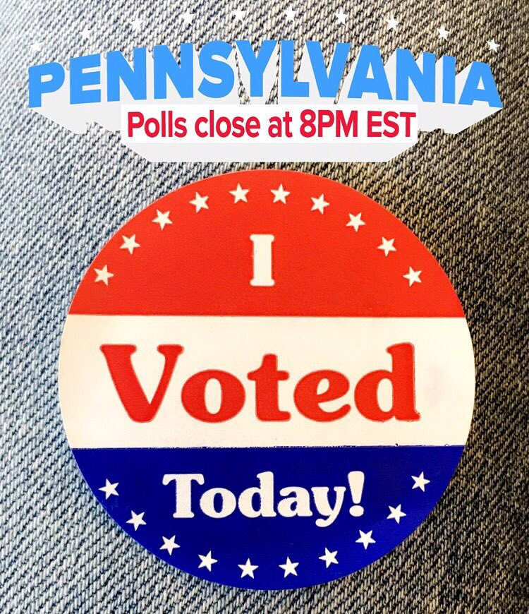 I just voted! Get out & vote today! #Trump2016 #PrimaryDay #PAPrimary #TrumpTrain