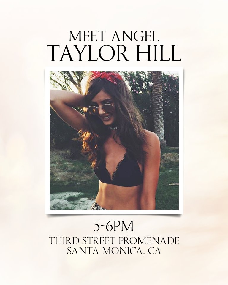 Where are the Angels going? @taylormariehill's kicking things off in LA! Come meet her: https://t.co/bFGBfqjkui https://t.co/zzO2uTb88V