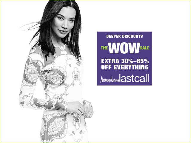 The WOW Sale is finally here! Click the link to shop 30-65% off EVERYTHING through April 21. https://t.co/80Ywml15SM https://t.co/zRlRr3q84v