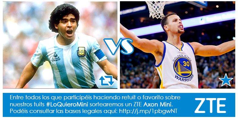 Concurso #LoQuieroMini Hay deportistas 'mini' que son muy grandes ¿Con cuál te quedas?  RT Maradona Fav Curry https://t.co/f7BdMnvlz8