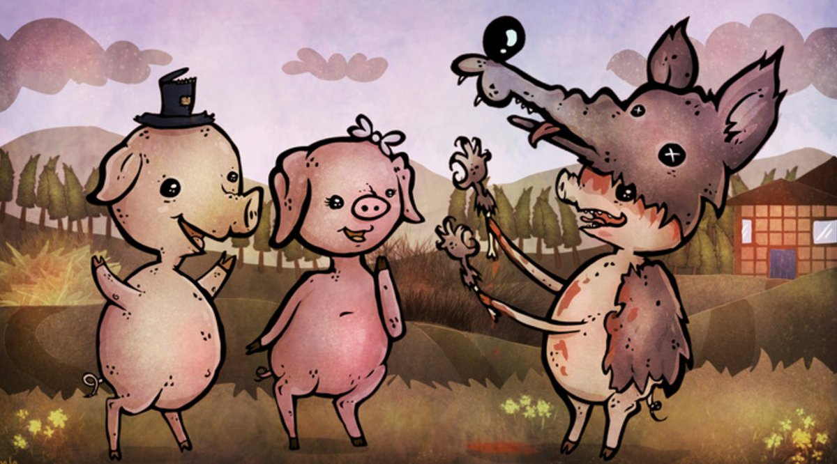 What's better than the Three Little Pigs? https://t.co/8XUJr5EAuo https://t.co/R5RnVkemVj