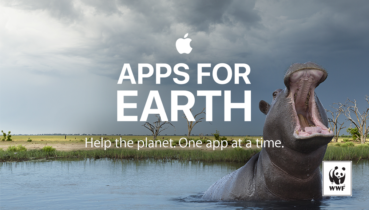 ???????? @World_Wildlife + Apple have teamed up to help the planet: https://t.co/lkDdosGwe4 #AppsforEarth @AppStore https://t.co/AYr4KRB4GE